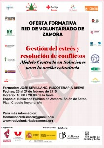 Cartel RED DE VOLUNTARIADO