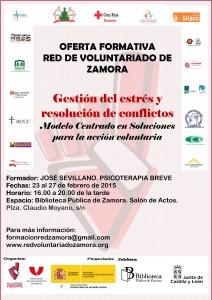 Cartel RED DE VOLUNTARIADO